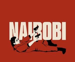nairobi, la casa de papel, and netflix image