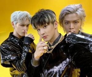 k-pop, mark, and kick it image