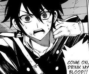 monochrome, manga, and yuichiro image