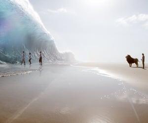 cs lewis, ocean, and god image