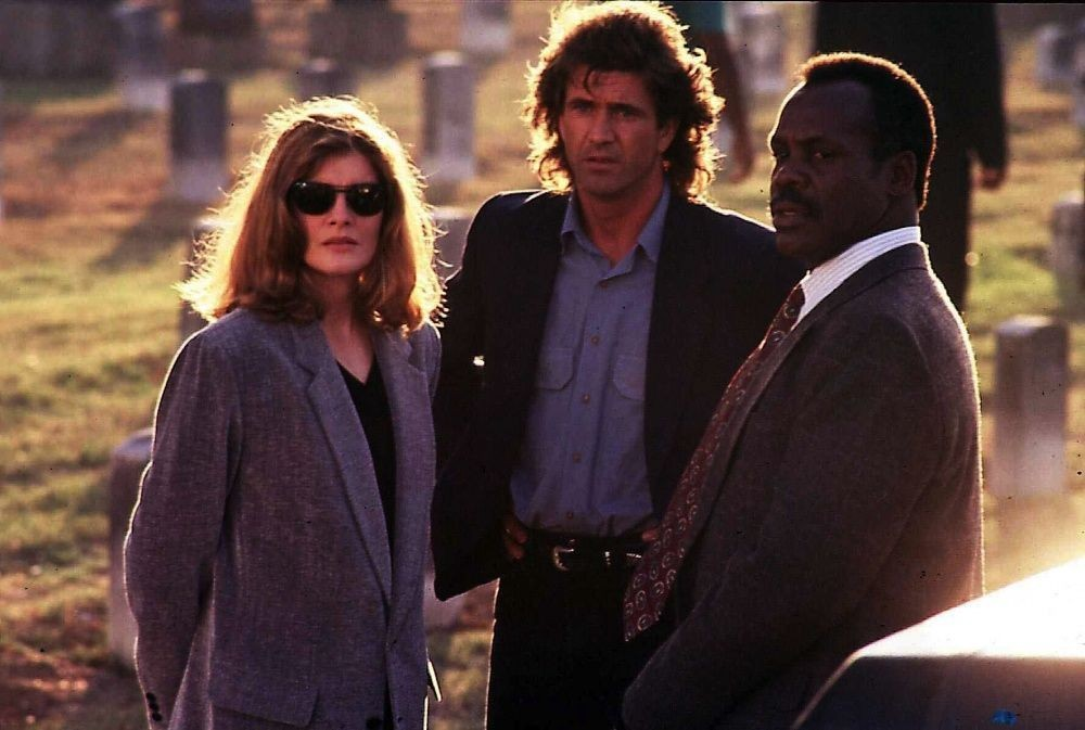 danny glover, Rene Russo, and lethal weapon image