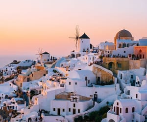 Greece, adventure, and sunset image