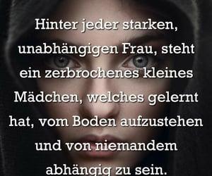 deutsch, sprüche, and stark image
