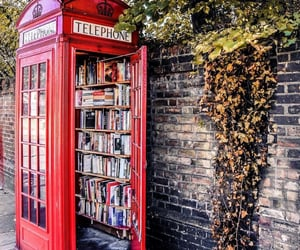 book, london, and city image