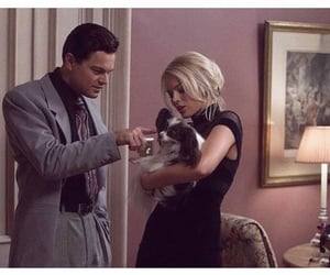margot robbie, leonardo dicaprio, and the wolf of wall street image