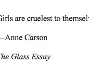 amour, litterature, and anne carson image