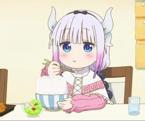 anime, anime girl, and chopsticks image