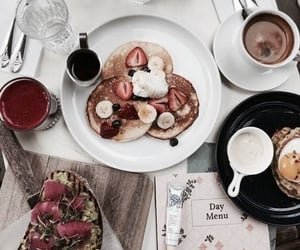 breakfast, mornings, and drinks image