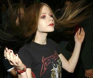 Avril Lavigne, metallica, and rock image