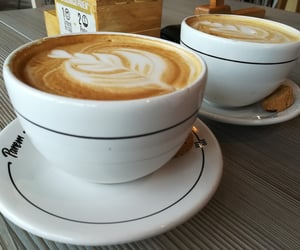 cafe, coffee, and cup of coffe image