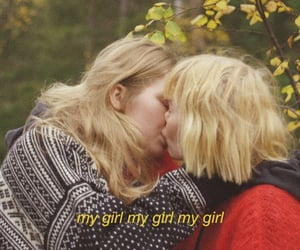 lesbian, girl in red, and lgbt image