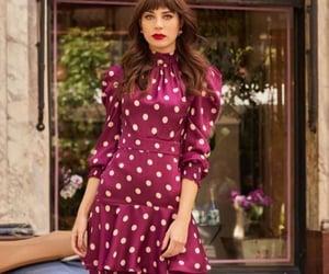dress, fashionable, and moda image