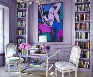 decor, lilac, and purple image