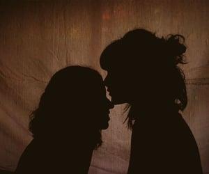 lesbian, couple, and girls image