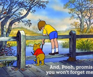 pooh, winnie the pooh, and quote image