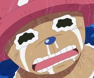 anime, cry, and tony tony chopper image