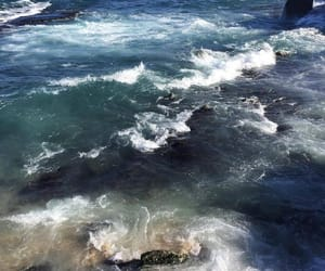 ocean, water, and blue image