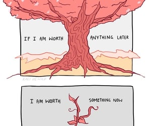 growth, quote, and tree image