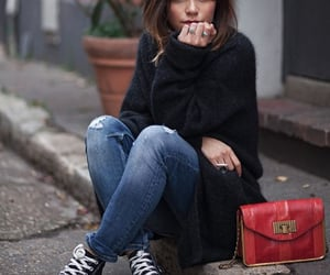 bags, casual, and jeans image