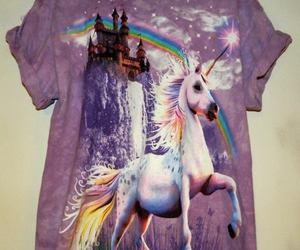 unicorn and shirt image