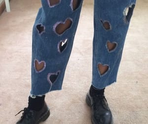 heart and jeans image