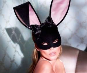 kate moss, bunny, and Playboy image