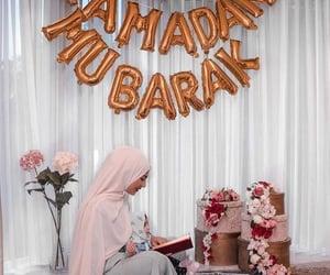 رَمَضَان, allah, and hijab image