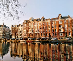 amsterdam, architecture, and art image