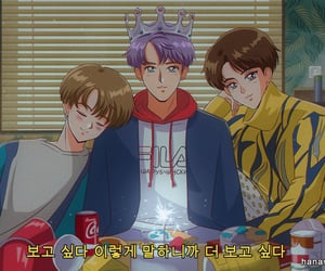 bts, anime, and spring day image