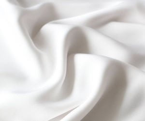 aesthetic, white, and fabric image