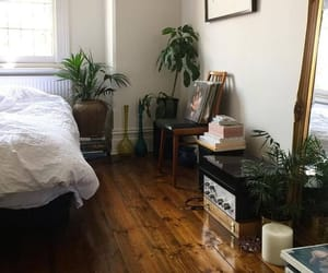 plants, bedroom, and indie image