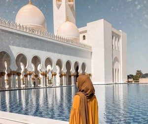 allah, mosque, and islam image