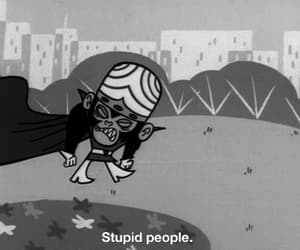 people, stupid, and cartoon image