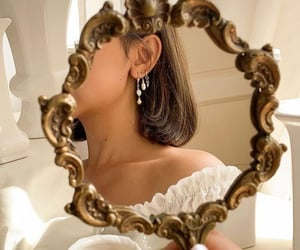 mirror, aesthetic, and beauty image