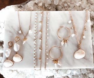 accessories, earrings, and necklace image