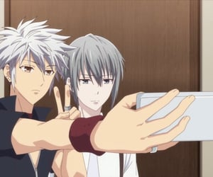 anime, yuki, and fruits basket image