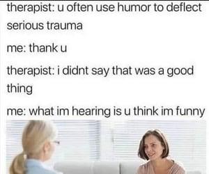funny, haha, and humor image