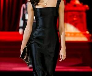 black, dolce gabbana, and model image