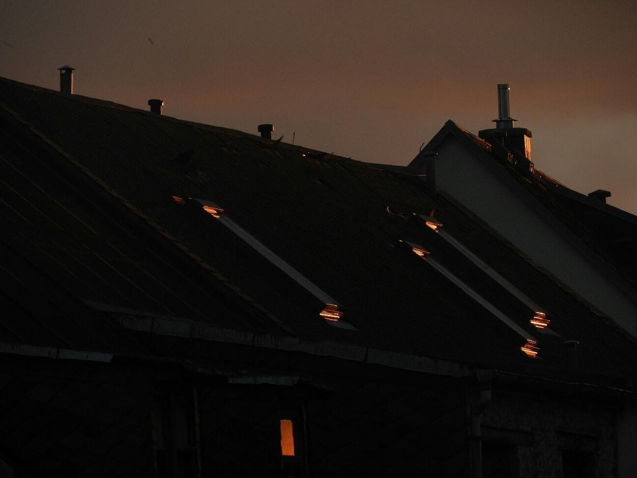 beautiful, orange, and roof image