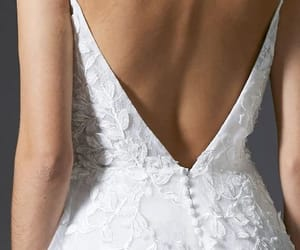 dress, gown, and open back image