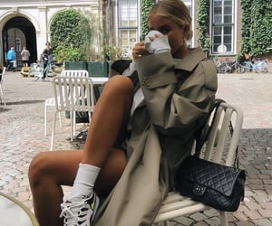 sneakers, josefine, and trench image
