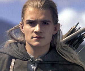 lord of the rings and orlando bloom image