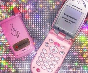 2000s, aesthetic, and pink image