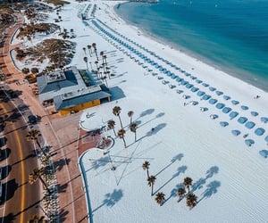 beach, florida, and panama city image