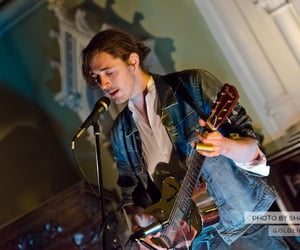 guitar, church, and andrew hozier byrne image