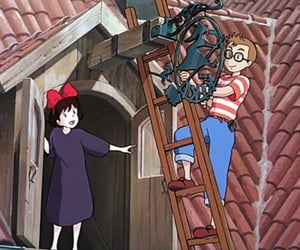 anime, witch, and boy image