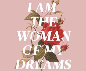 woman, Dream, and empowerment image