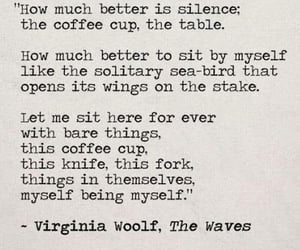 poem, silence, and virginia woolf image