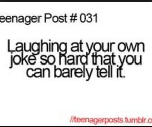 teenager post, funny, and joke image