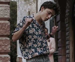 call me by your name, timothee chalamet, and boy image